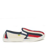 Slip-on COOPER in lines, Stripes (three colors)