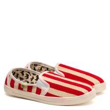 Slip-on COOPER Etno, 8 (Red stripes)