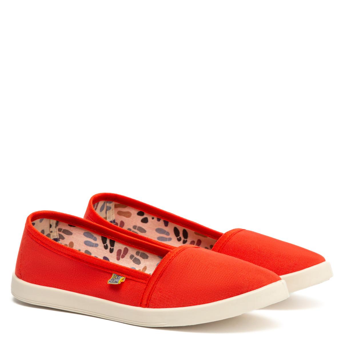 Espadrilles CANVAS, Orange