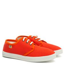 Short DERBY Sneakers, Orange