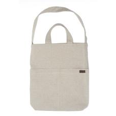 Flax Linen Bag, Beige