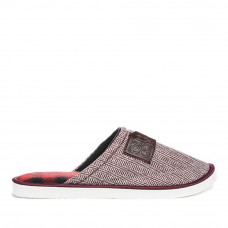 Home slippers LUX HOME, Burgundy