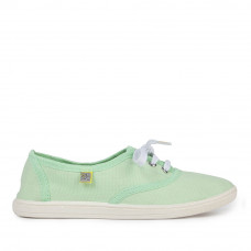 Sneakers OXFORD Canvas, Pistachio