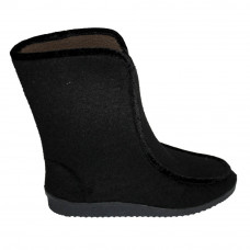 Women's High Sidboots, Black