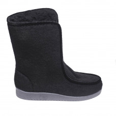 Women's Hith Sidboots with clasp, Black