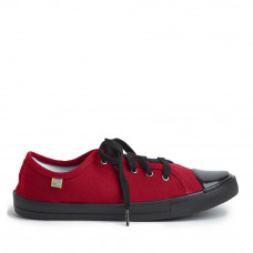 Sneakers Classic Adult's (Black Sole), Red