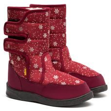 Boots AURORA, Burgundy