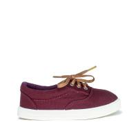 Kid's Sneakers TAYLOR print, Burgundy