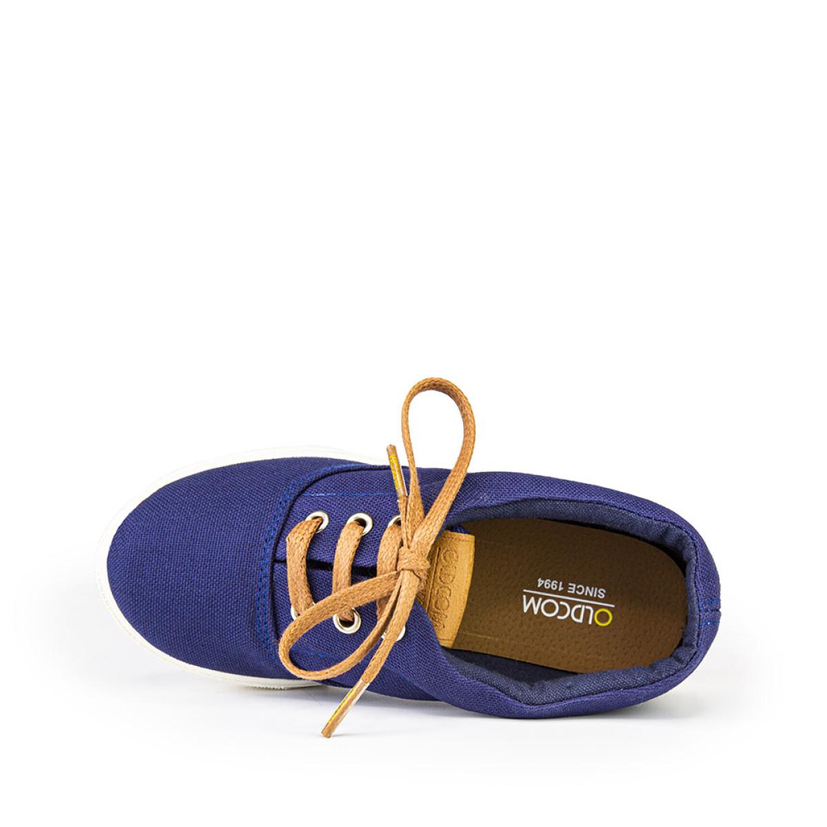 Kid's Sneakers TAYLOR print, Blue