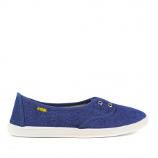 Slip-on SARAH Denim, Electric Blue