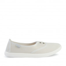 Slip-on SARAH Denim, White
