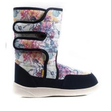 Boots AURORA Print, Navy flowers