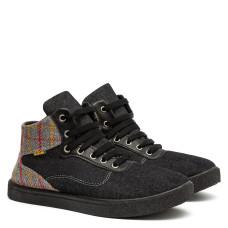 Sneakers LONDON, Black / Gray