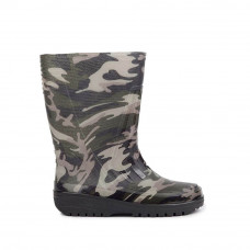 Teen's Wellies with print, Military