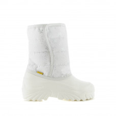 Kid's Boots JUMPER, White Snowflakes