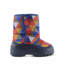 Boots FROZZY, Navy Triangles