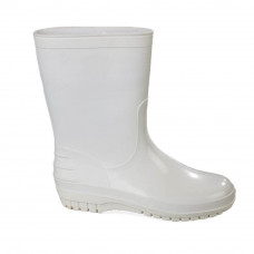 Men's White Wellies, White