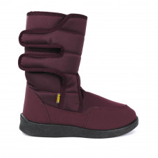 Boots AURORA Glossy, Burgundy