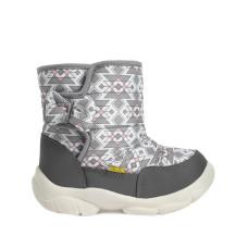 Boots LILA, Gray Geometric