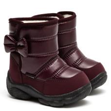 Boots LILA, Burgundy