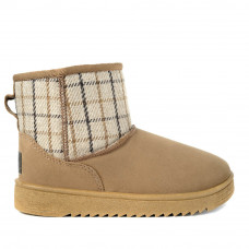Boots DAKOTA, Beige Plaid