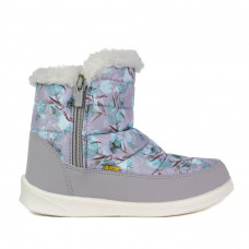 Boots POLAR, Gray Flowers