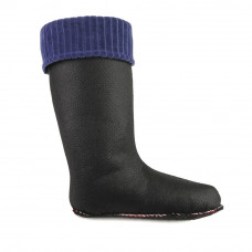 Women's Lining CLASSIC  for high wellies, Navy