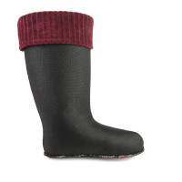 Women's Lining CLASSIC  for high wellies, Burgundy