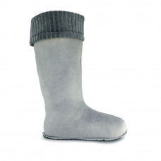 Women's Lining CLASSIC  for high wellies, Gray