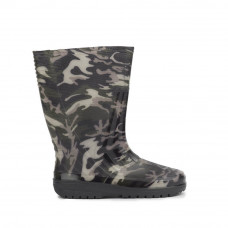 Men's Short Wellies with print, Military