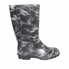 Men's Wellies  with print, Military