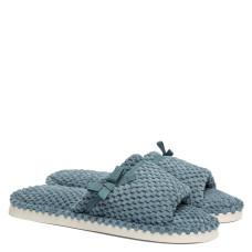 Women's Home slippers AMELY, Azure light