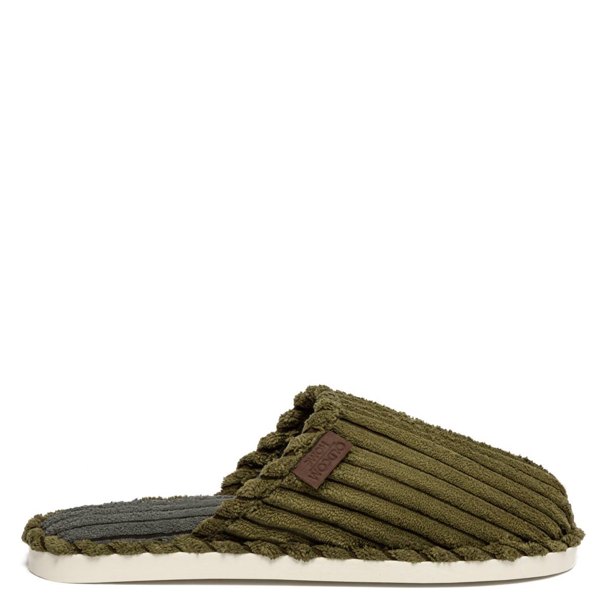 Home slippers LARRY, Khaki