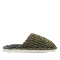 Home slippers LARRY, Khaki