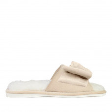 Women's Home slippers CHARM, Ivory