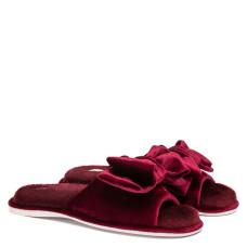 Women's Home slippers CHARM, Burgundy