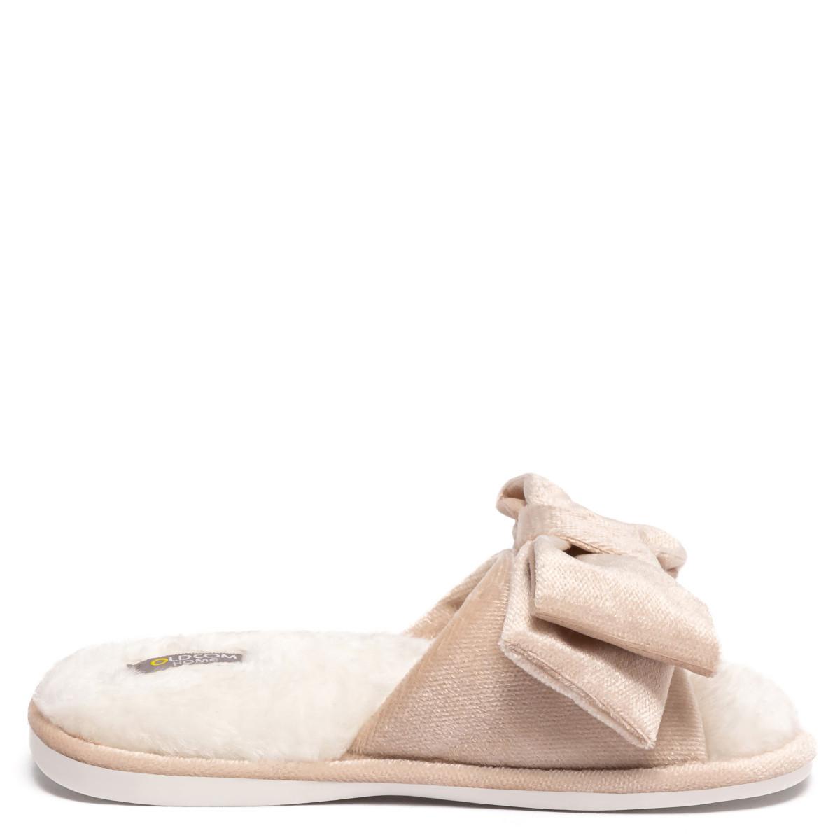 Kid's home slippers CHARM, Ivory