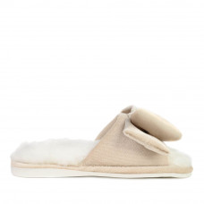 Kid's home slippers CHARM, Ivory