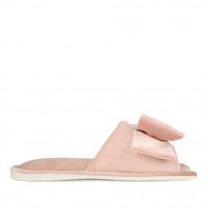Kid's home slippers CHARM, Pale pink