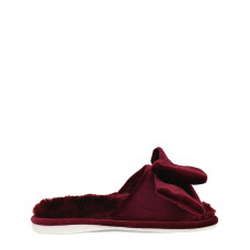 Kid's home slippers CHARM, Burgundy