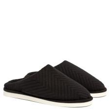 Men's Home slippers FAMILY, Black