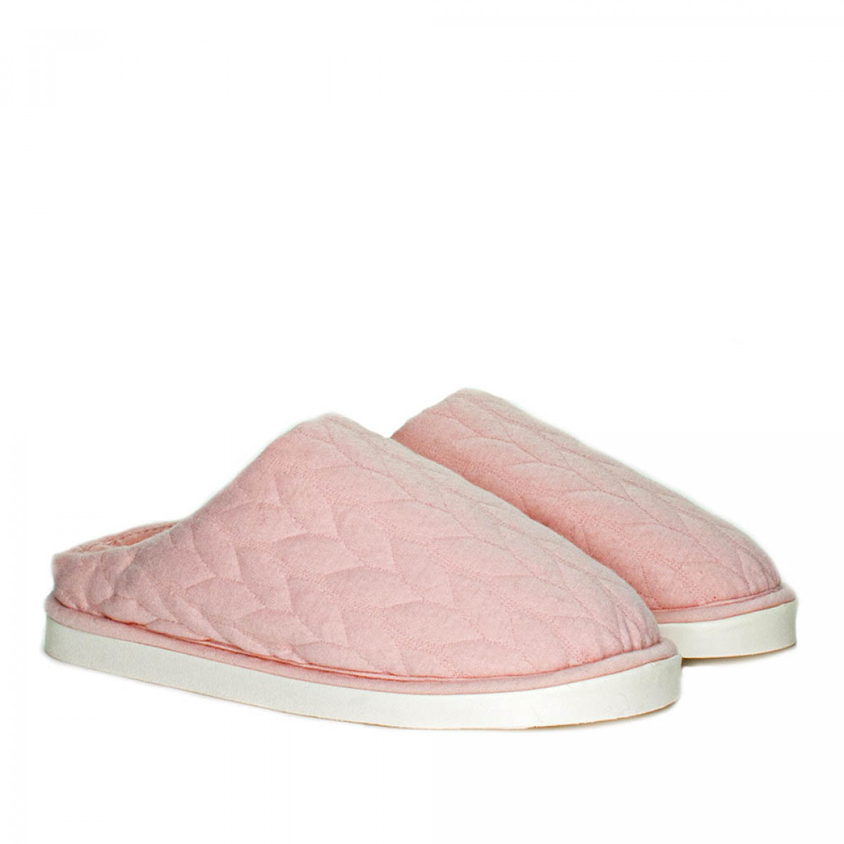 Women's Home slippers FAMILY, Pale pink