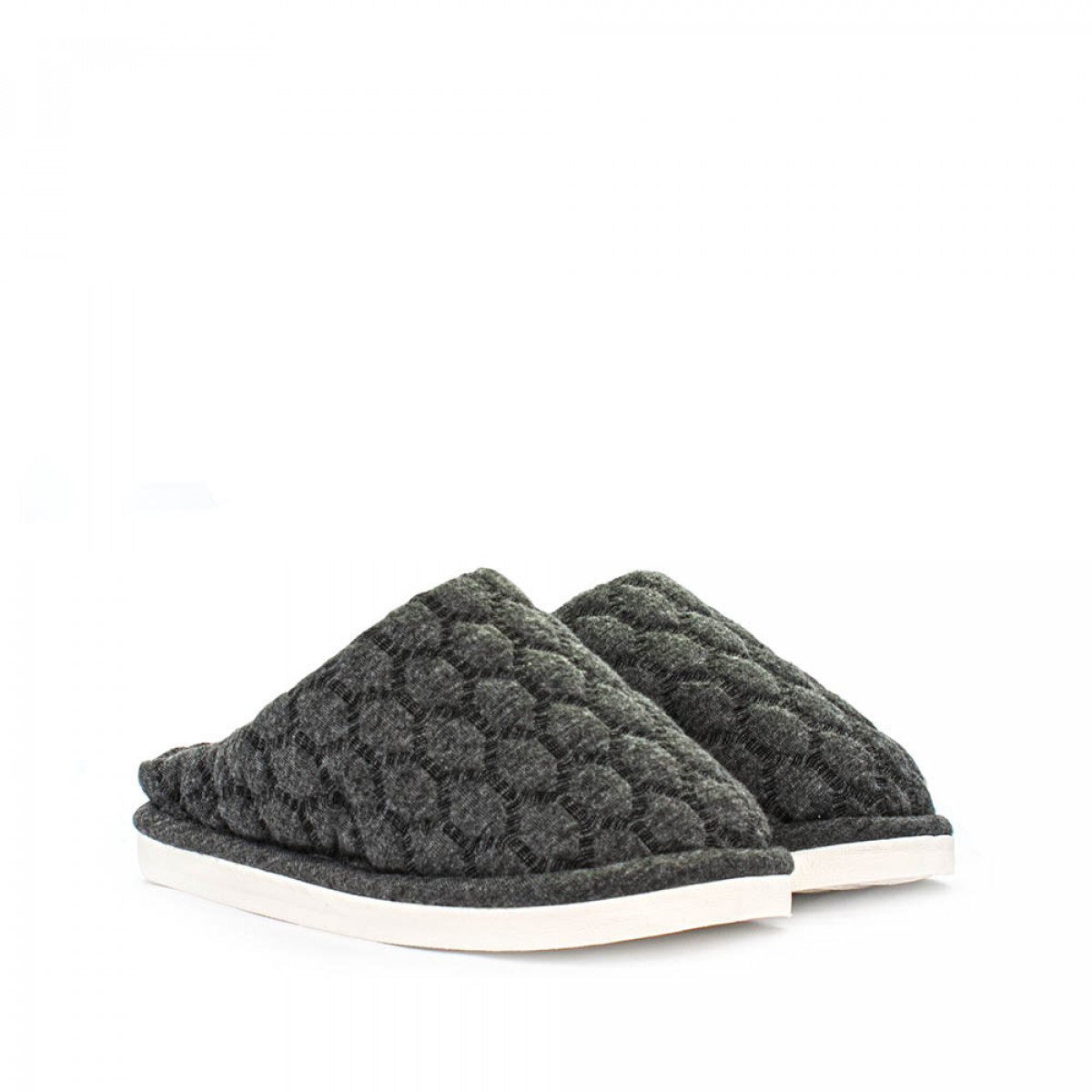 Kid's home slippers FAMILY, Gray