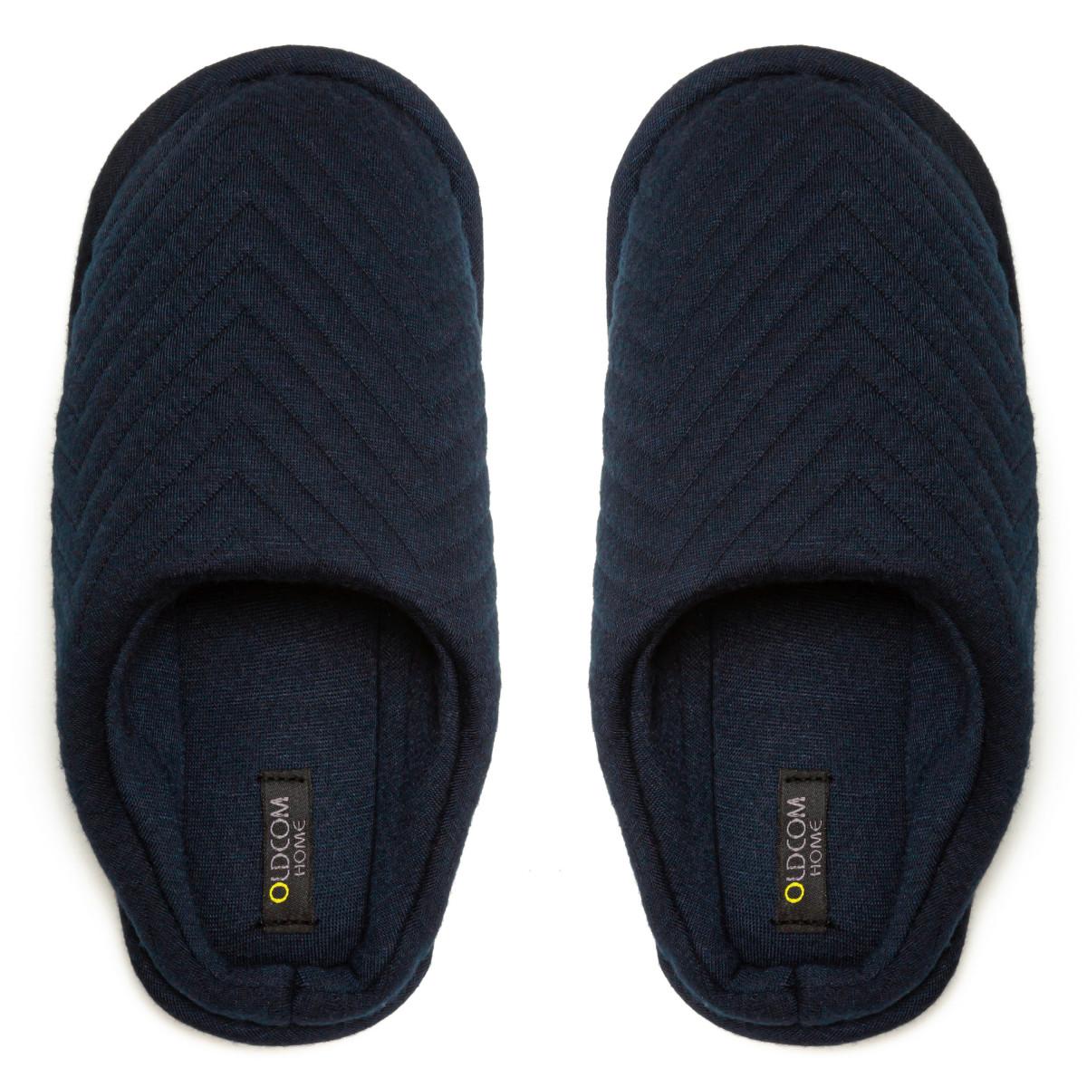 Kid's home slippers FAMILY, Navy