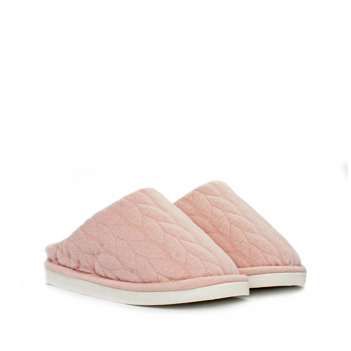 Kid's home slippers FAMILY, Pale pink