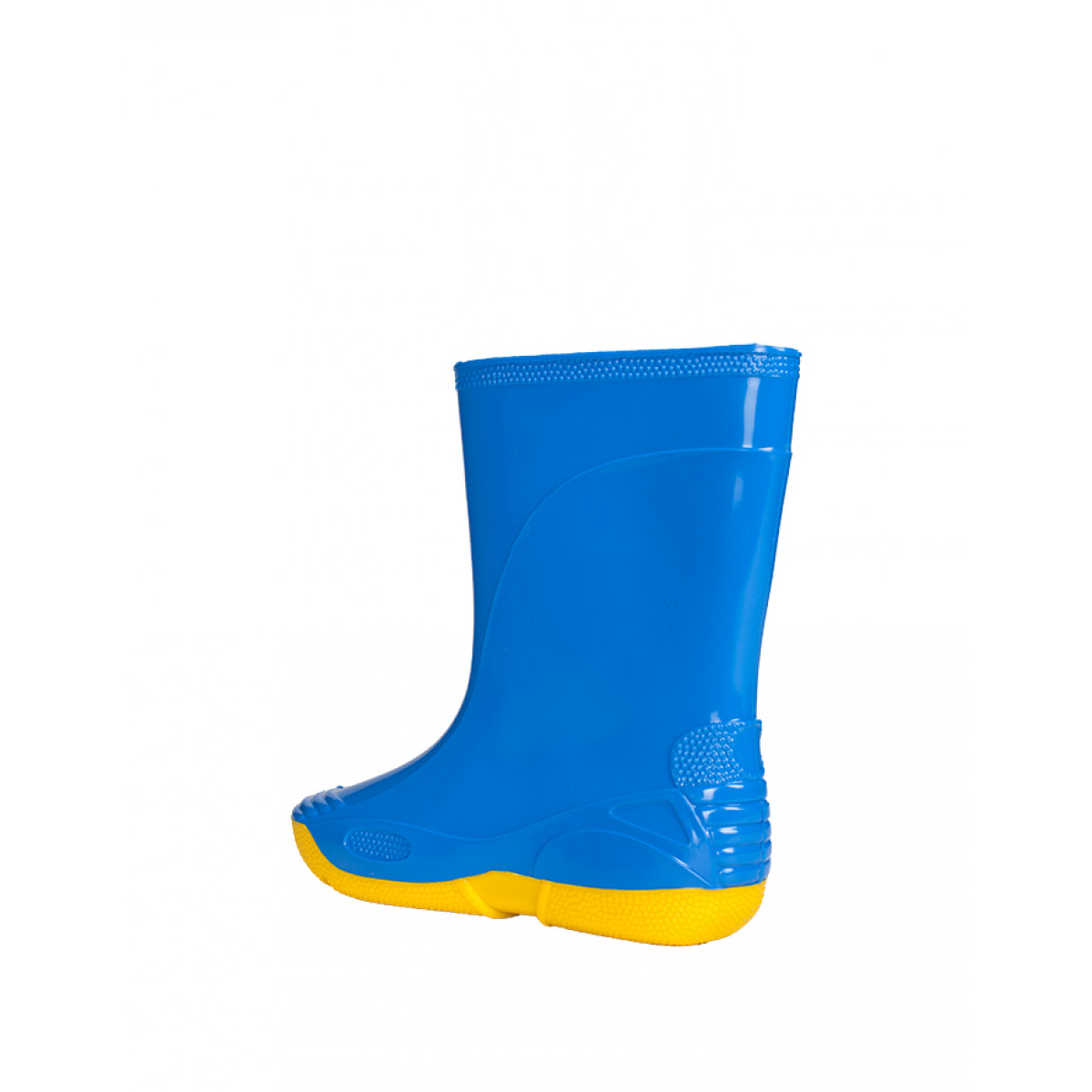 Kids' Wellies VIVID, Blue/Yellow