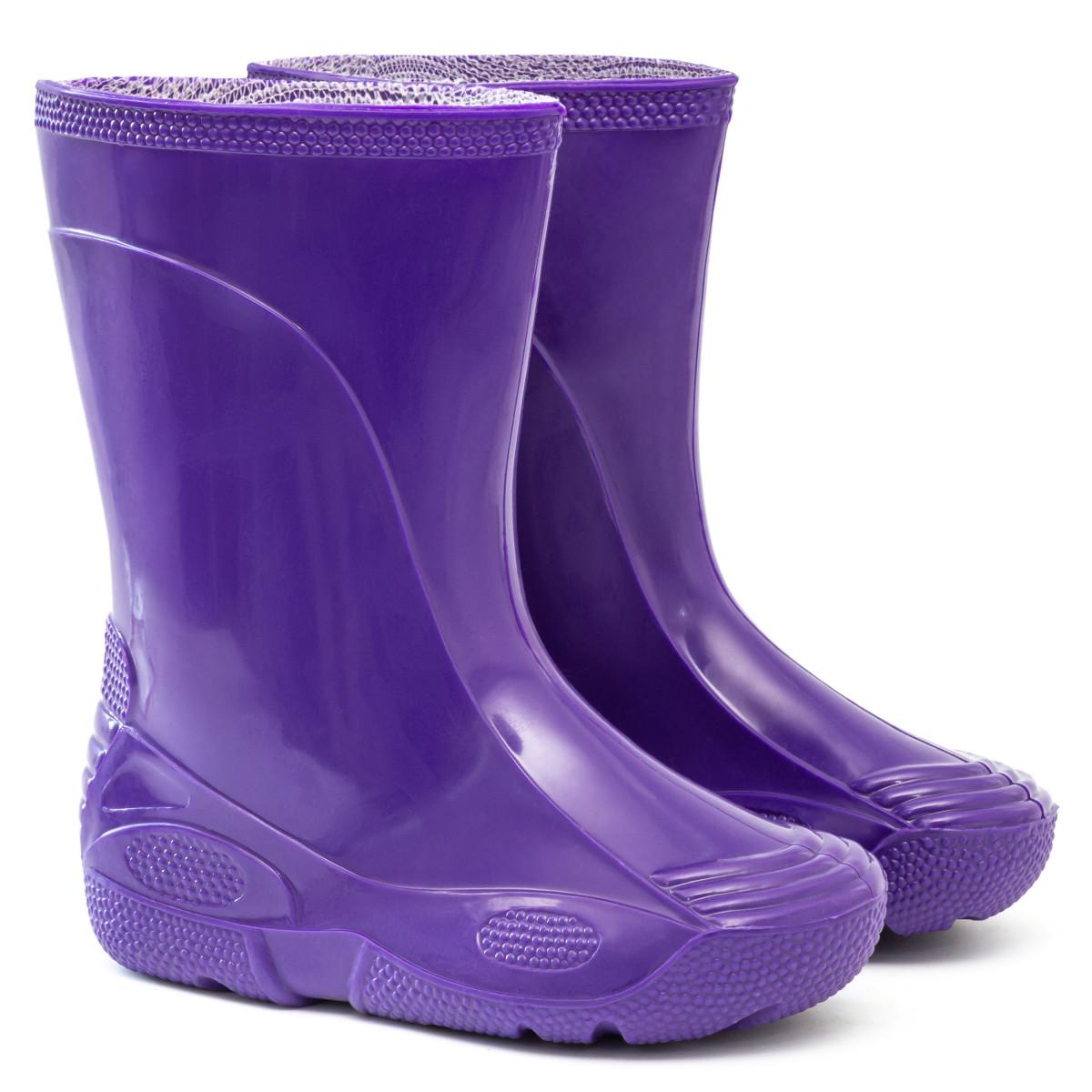 Kids' Wellies VIVID, Purple