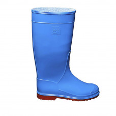 Women's Hight Wellies VIVID, Blue/Red