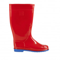 Women's Hight Wellies VIVID, Red/Blue