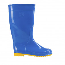 Women's Hight Wellies VIVID, Blue/Yellow